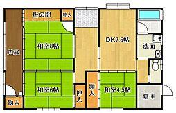 筑豊本線 筑前植木駅 徒歩8分