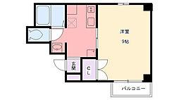 フォーラム西宮・平松[203号室]の間取り