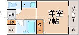 メゾン・ド・ソフィー[4階]の間取り