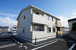 静岡県磐田市森下の賃貸アパートの外観