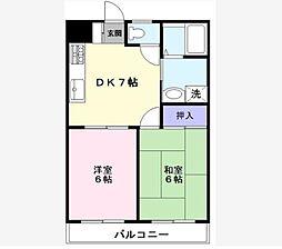 ラフィーヌ・池田1番館[3階]の間取り