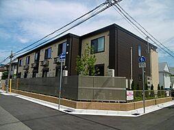 兵庫県西宮市学文殿町1丁目の賃貸アパートの外観