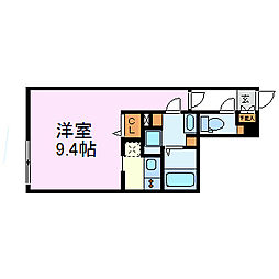 Branche千代田[1階]の間取り