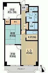 CADENZA(カデンツァ)[0711号室]の間取り