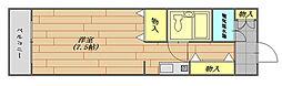 ベルハイツ座間 501号室[5階]の間取り