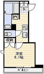 Maison NOBU[401号室]の間取り
