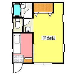 さつきハイム[2階]の間取り
