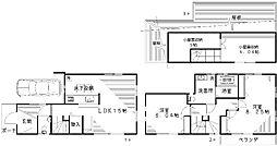 [一戸建] 東京都杉並区西荻南3丁目 の賃貸【東京都 / 杉並区】の間取り