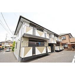 埼玉県川越市富士見町の賃貸アパートの外観