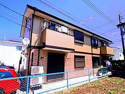 埼玉県入間市東町2丁目の賃貸アパートの外観