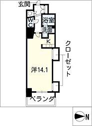 エルブ葵[10階]の間取り