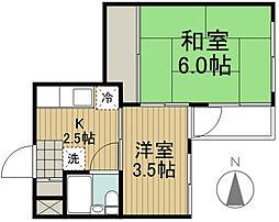 野崎ビル[3階]の間取り