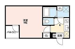 Eral板橋(エラル板橋)[203号室]の間取り
