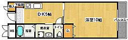 フェアリーコート鳳[2階]の間取り