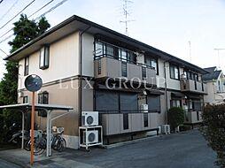東京都昭島市宮沢町1丁目の賃貸アパートの外観