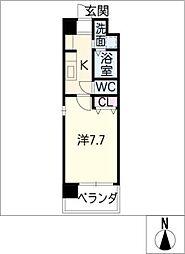 SUNNY HIGASHIYAMA[4階]の間取り