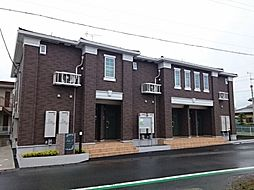 静岡県袋井市久能の賃貸アパートの外観