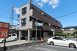 埼玉県草加市清門1丁目の賃貸マンションの外観