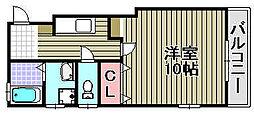 泉佐野HIRANO2[301号室]の間取り