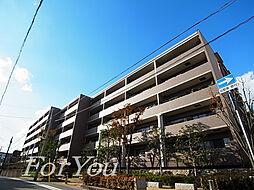 兵庫県神戸市灘区楠丘町4丁目の賃貸マンションの外観
