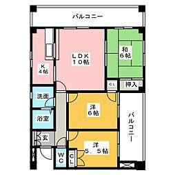 昭和ビル[2階]の間取り