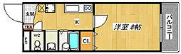 宿院PCハイツ[3階]の間取り