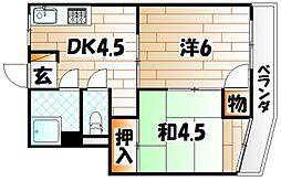 三宅ビル[2階]の間取り
