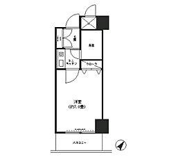 コシノパークサイドビル[4階]の間取り