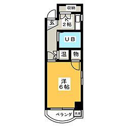 アーバンライフ新栄[4階]の間取り