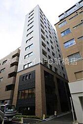 東京都中央区銀座8丁目の賃貸マンションの外観