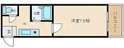 ティックランド南船場[9階]の間取り