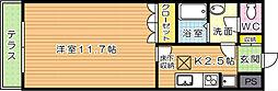 ソレイユI[1階]の間取り