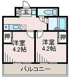 SOCIO町田[6階]の間取り