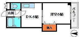 アビタシオンエース[3階]の間取り