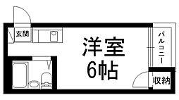 プレアール上神田[02082号室]の間取り