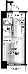 メインステージ神田佐久間町[1003号室]の間取り