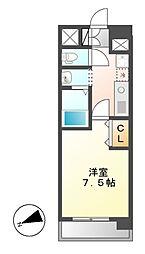 ASレジデンス千代田[9階]の間取り