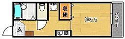 セイシンハイツ[B105号室]の間取り