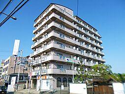 大阪府羽曳野市誉田の賃貸マンションの外観