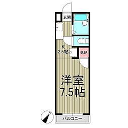 アマンヴィラ鎌倉[2-C号室]の間取り