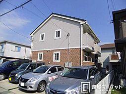 愛知県豊田市青木町1丁目の賃貸アパートの外観