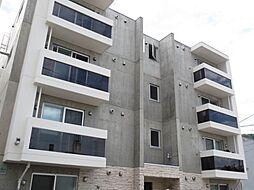 北海道札幌市中央区南二十三条西9丁目の賃貸マンションの外観