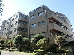 東京都府中市宮西町3丁目の賃貸マンションの外観