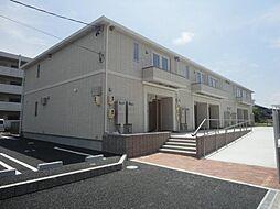 愛知県あま市上萱津八剱の賃貸アパートの外観
