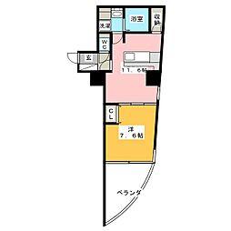 さくらHills富士見[4階]の間取り