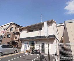 京都府京都市右京区常盤東ノ町の賃貸アパートの外観