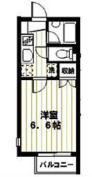 ハイム桜C棟[2階]の間取り