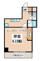 ラフォンテ八戸ノ里[6階]の間取り