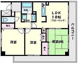 グランドールYAMAMOTO[2階]の間取り