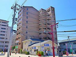 京都府木津川市木津池田の賃貸マンションの外観